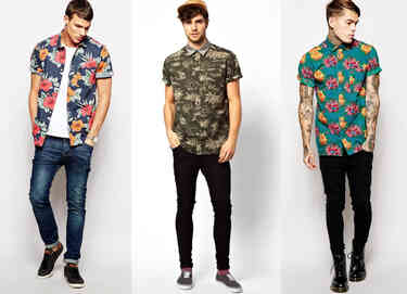 Hawaiian shirts asos 1
