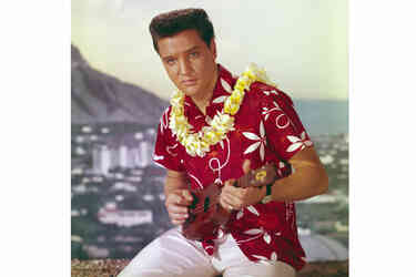 Hawaiianshirts elvisbluehawaii