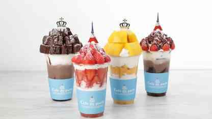 日本初上陸の韓国スイーツカフェ「Cafe de paris」のポップアップストアが六本木ヒルズに