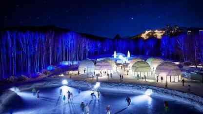 冬限定の氷の街。星野リゾート トマムにアイスヴィレッジが出現!
